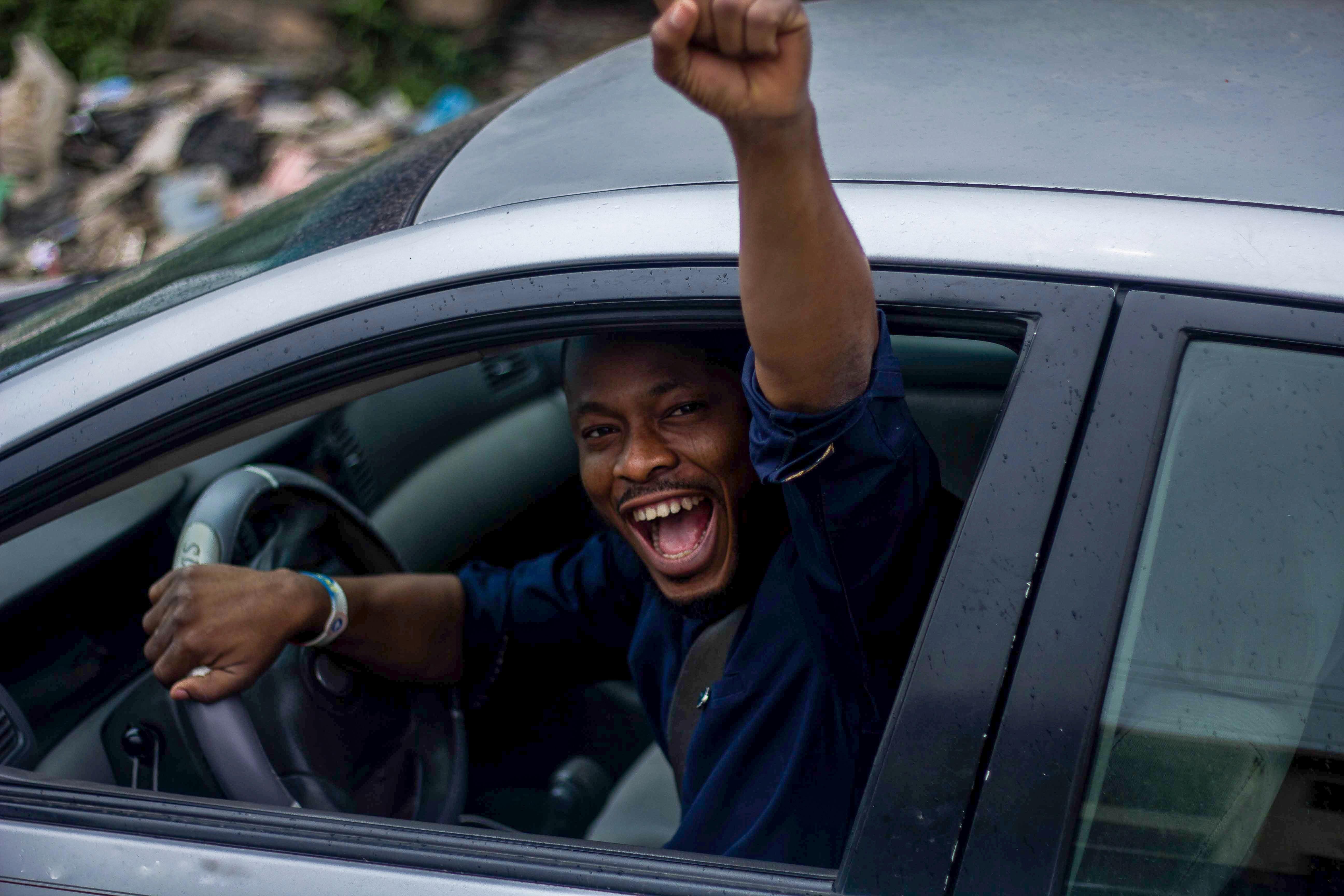 Triumphant Driver